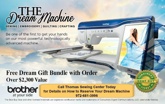 What\'s New at Thomas Sewing Center?