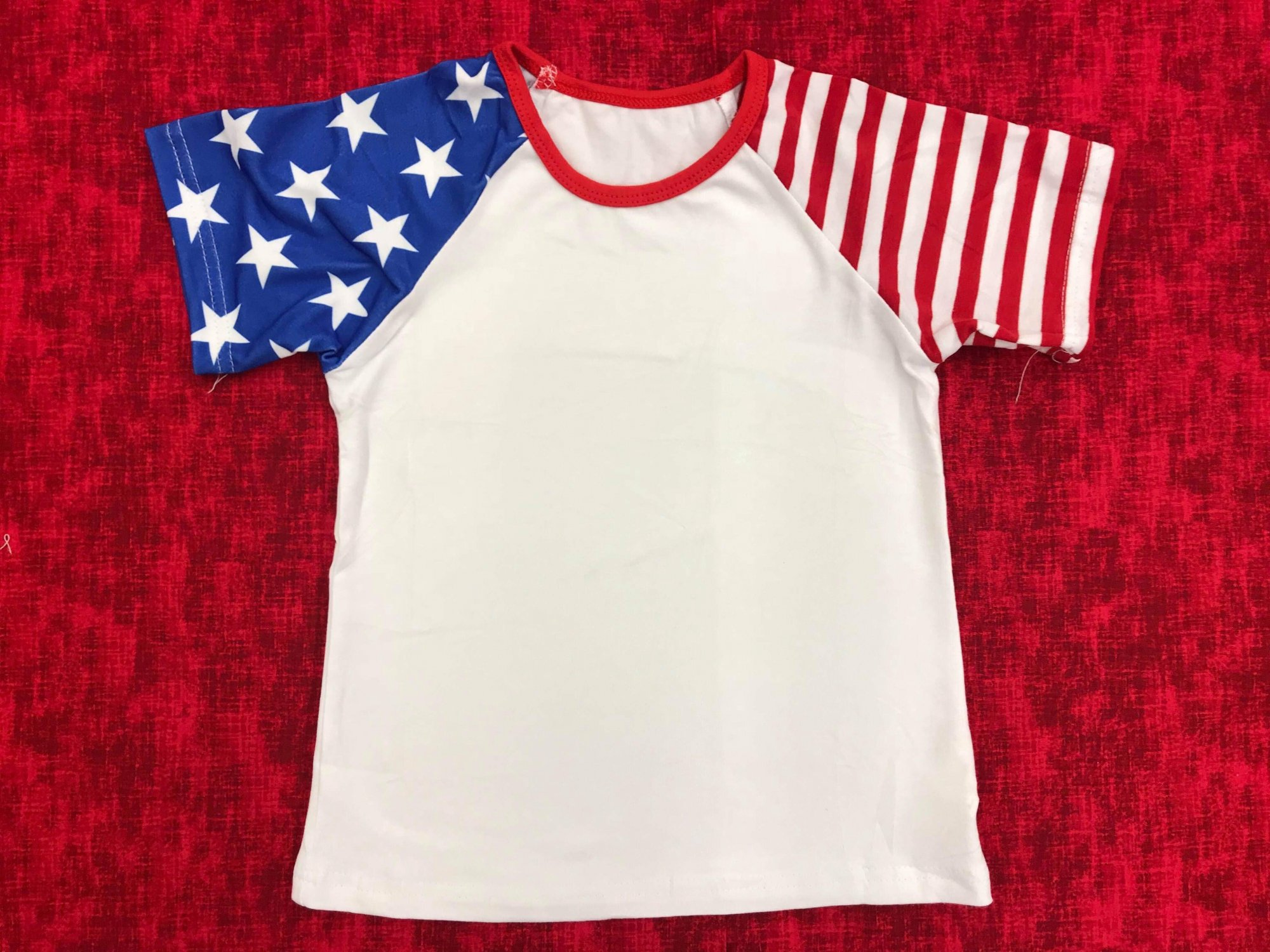 Flag Sleeve Boy Raglan