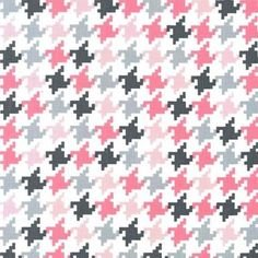 Everyday Houndstooth by Michael Miller Bloom