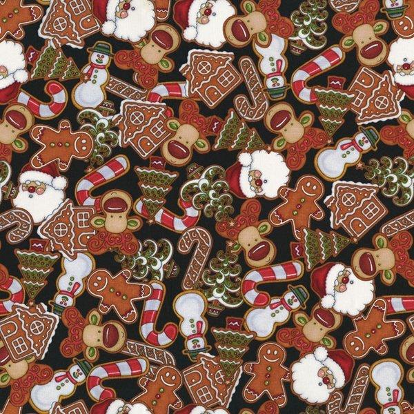 Black Christmas All Over Print