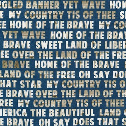 Americana Phrases from 4th on the Farm by Robert Kaufman