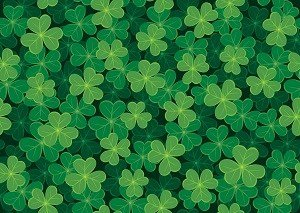 HTV Green Allover Clover