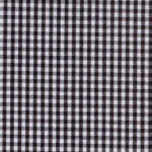 1/16 inches Black Gingham Cotton