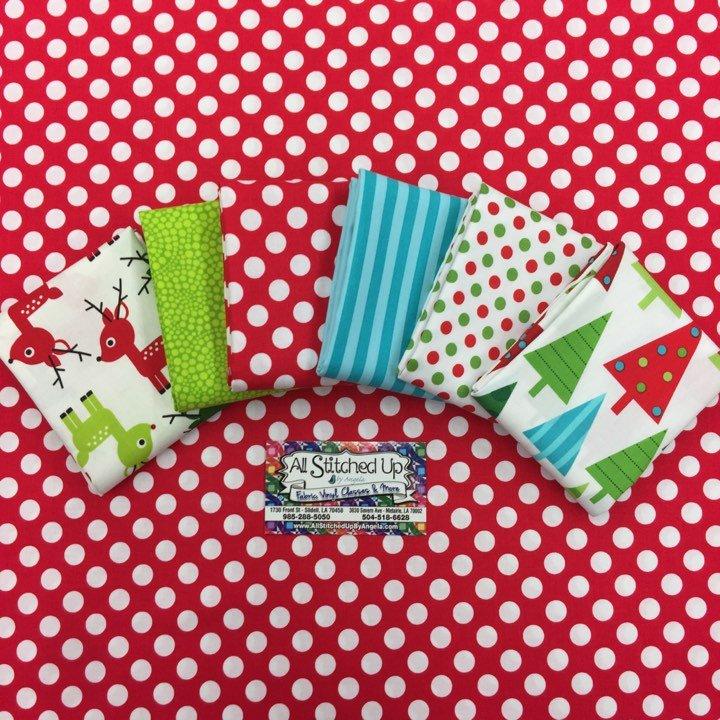 Christmas Trees & Reindeer 6FQB