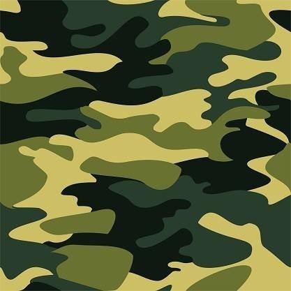 Green Camo Adhesive Vinyl