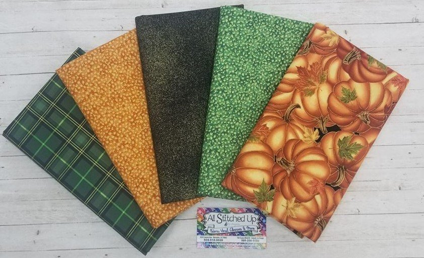 Harvest 5 yard Quilt Kit