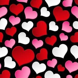 HTV Hearts on Black
