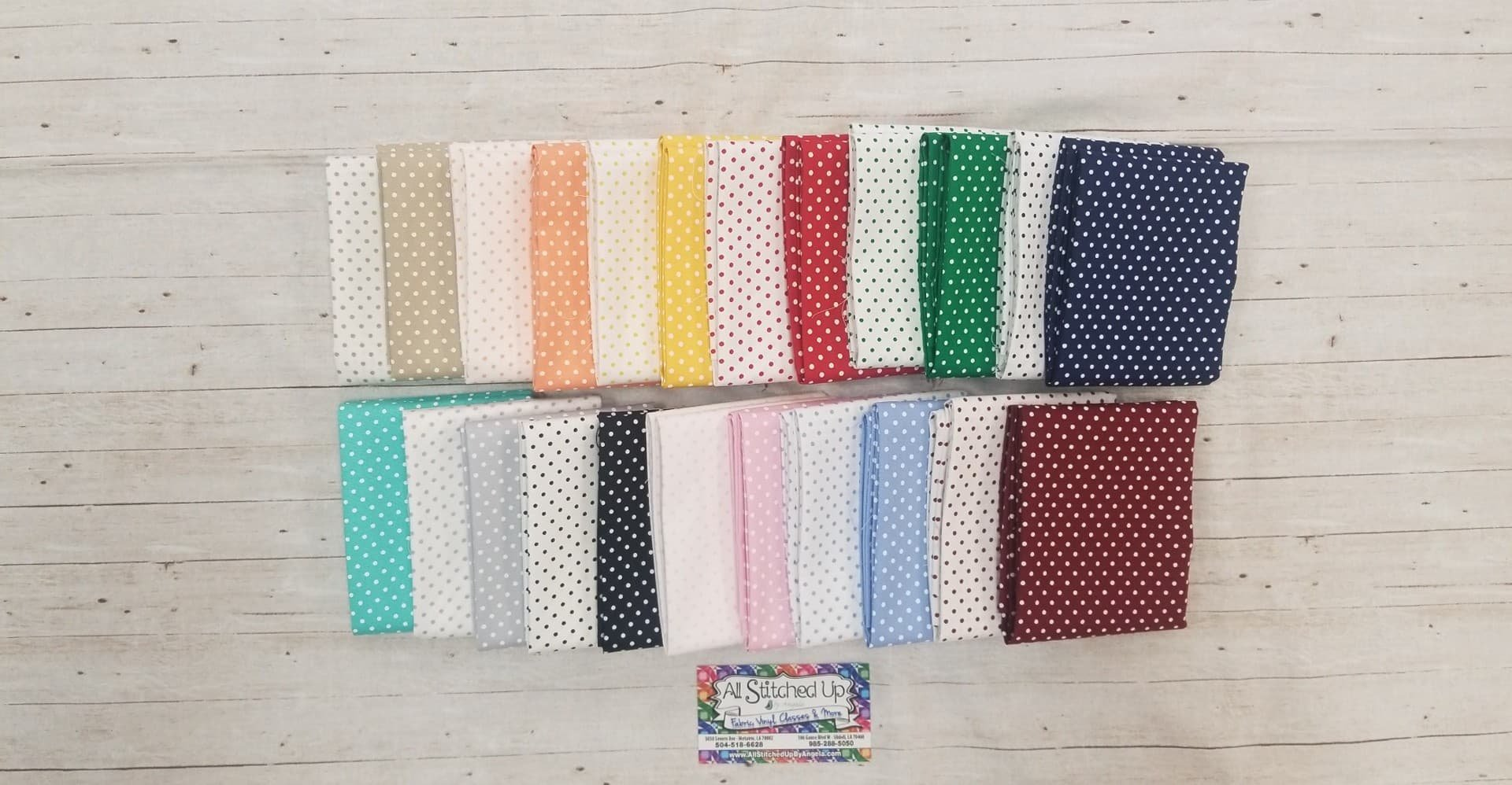 Fabric Finders Dots 23FQB