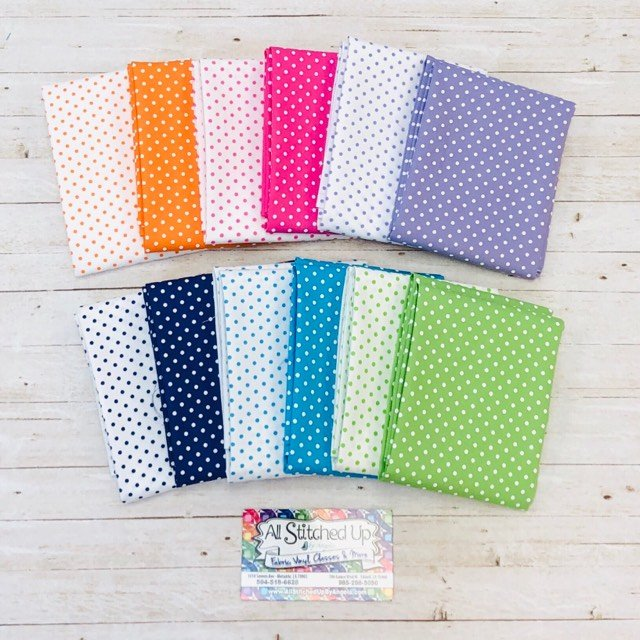 Fabric Finders Dots 12FQB