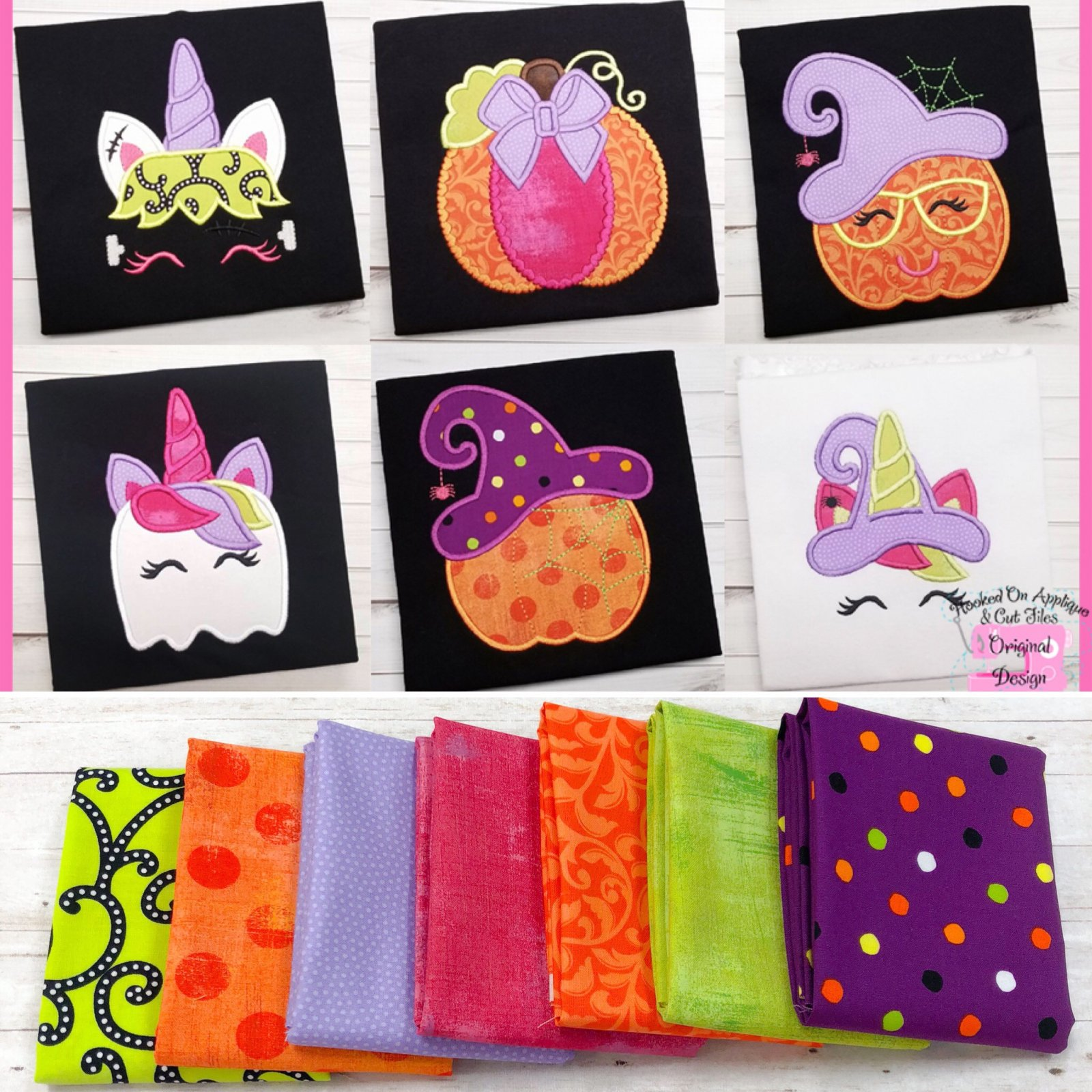 Hooked on Applique Halloween 7FQB