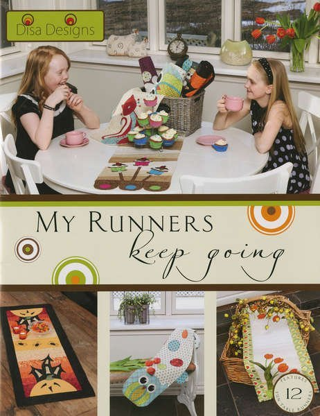 My Runners Keep Going Pattern Book