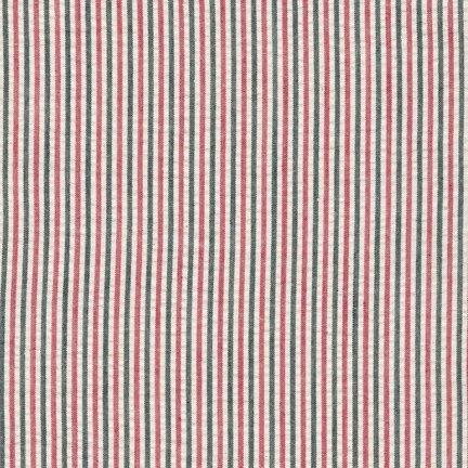 Seersucker Stripe Red/Black