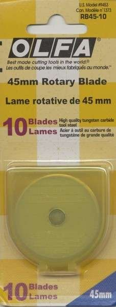 45mm Rotary Blade - 10 pack