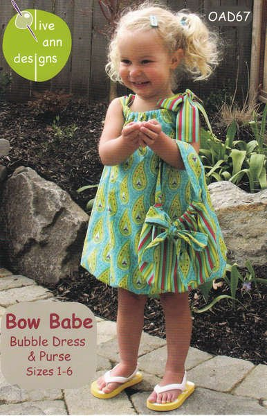 Bow Babe Bubble Dress and Purse