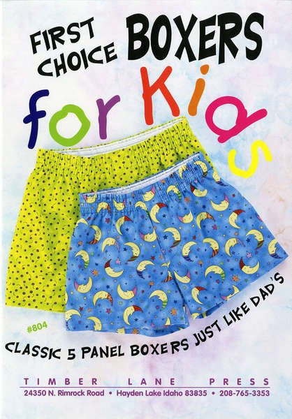 First Choice Boxer for Kids Pattern
