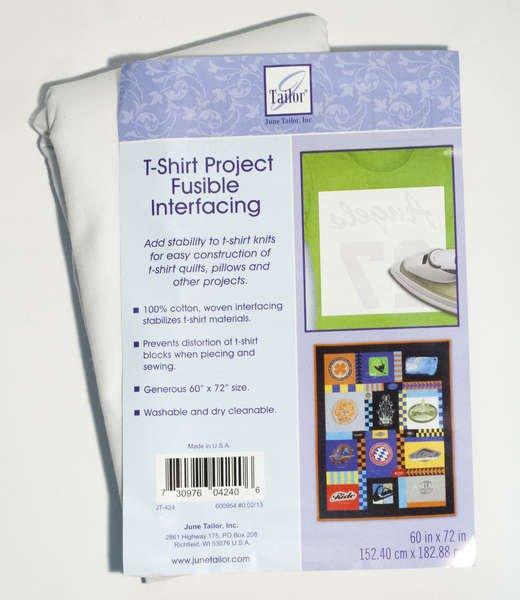 T-Shirt Project Fusible Interfacing 60x 72
