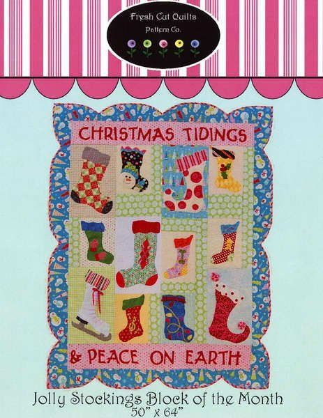 Jolly Stocking Block of the Month
