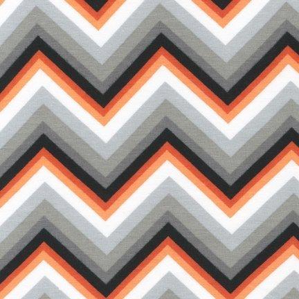 Remix Laguna Jersey Prints - Tangerine