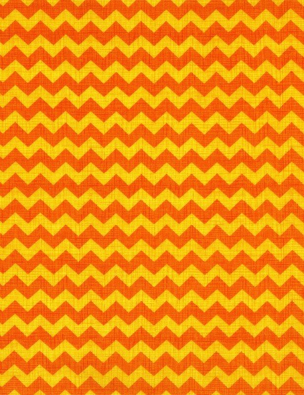 Ziggy Chevron-Orange