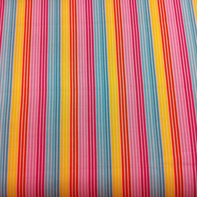 Bright Pinstripe Multi