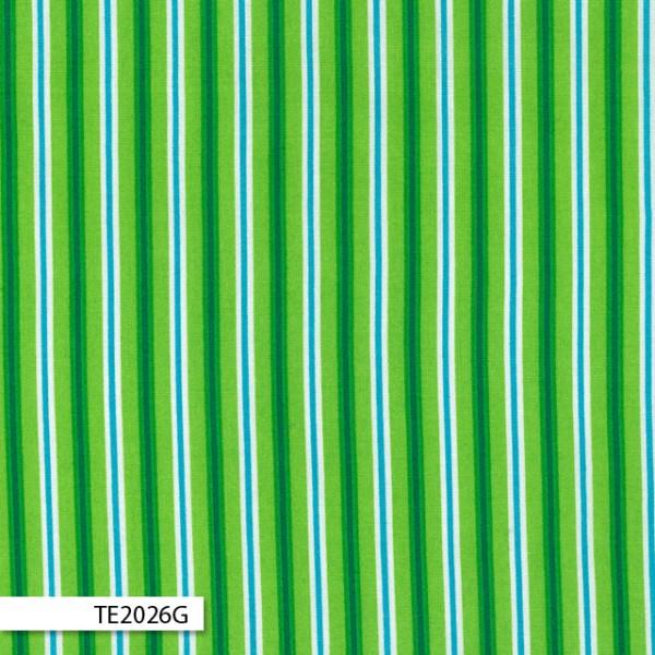 Linen Cupboard - Sarah Stripe Green - Ella Blue