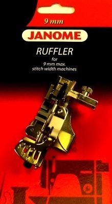 Janome Acufeed Ruffler for 9mm max stitch width machines