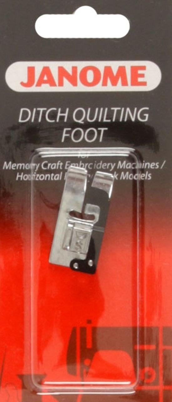 Ditch Quilting Foot for Memory Craft Embroidery Machines/Horizontal Rotary Hook Models