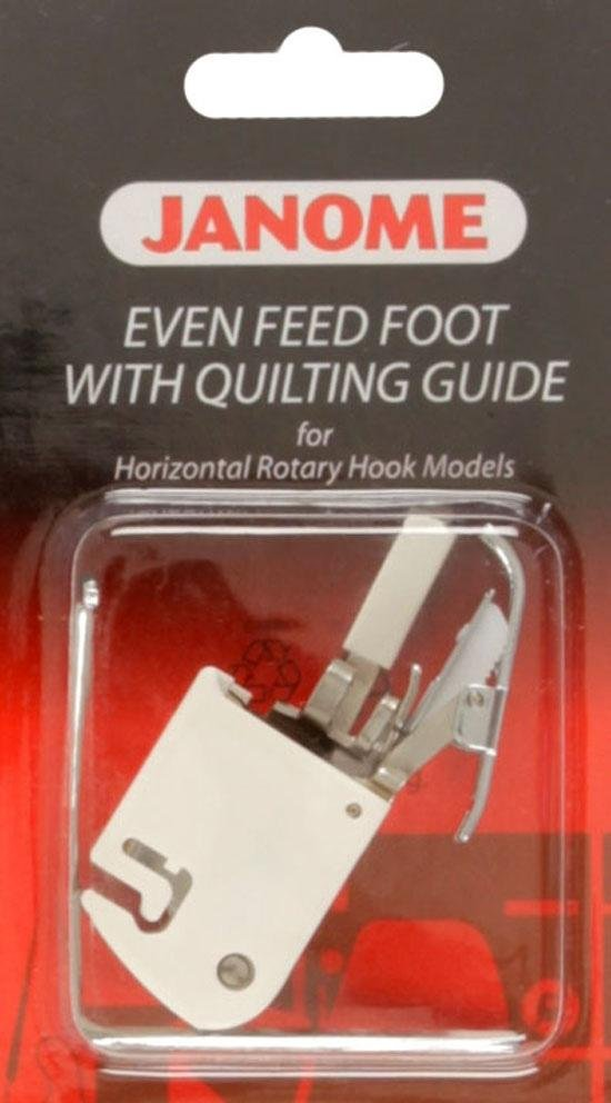 Janome Sliding Guide Foot for 7mm max. stitch width machines