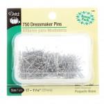 Dressmaker Pins - Steel Size 17 - 1-1/16