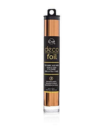 Deco Foil Transfer Sheets Copper