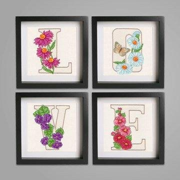 Floral Alphabet by Krista H CD