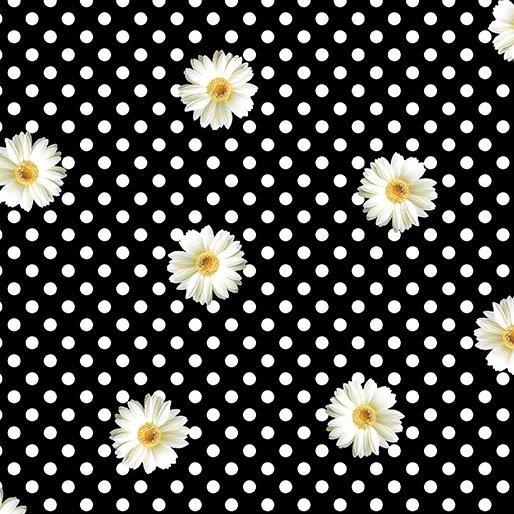 Daisy Dot Black/White
