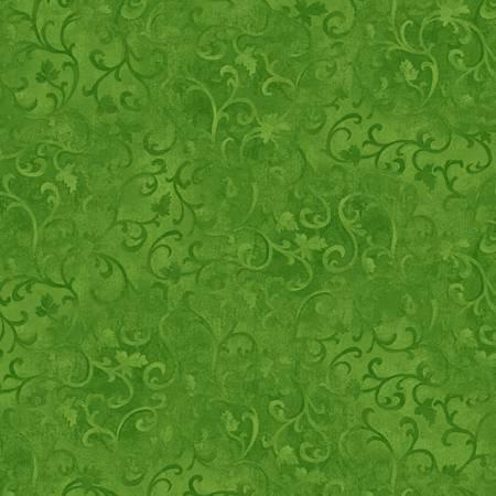 Bright Leaf Scroll