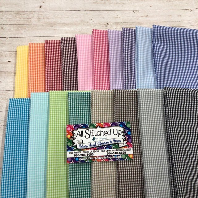Fabric Finders Gingham 18FQB