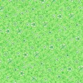 Bloom 26687 Green by P&B Prints