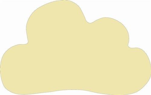Cloud Unfinished Cutout 12x1/4