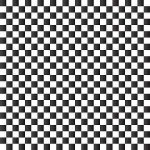 Black and White Checkerboard Adhesive Vinyl
