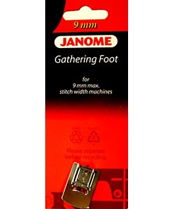 Gathering Foot for 9mm Machine