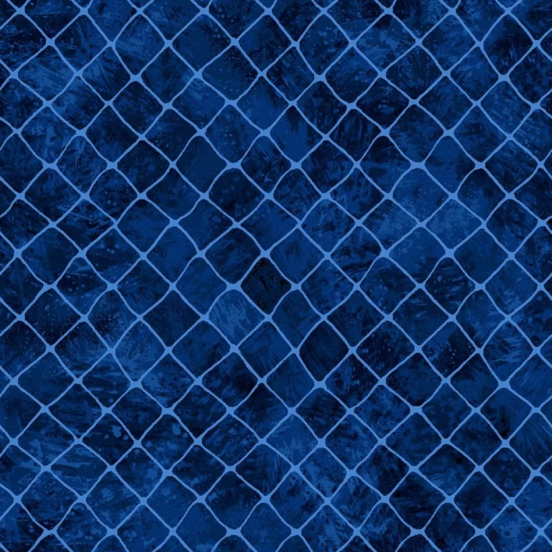Dark Blue Net- Go FIsh 60-19403