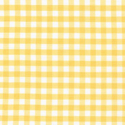 1/4 Carolina Gingham Yellow