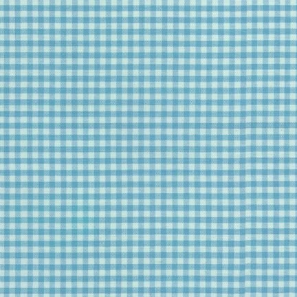 Carolina Gingham - Pond 1/8 inches Gingham Cotton