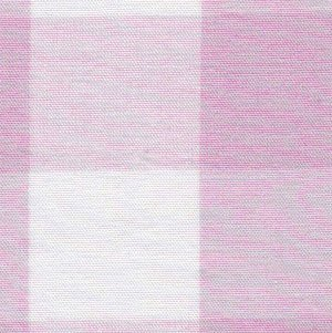 1 inch Pink Gingham