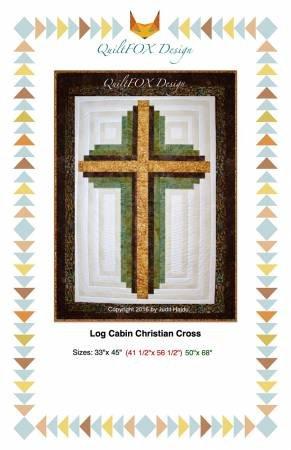 Log Cabin Christian Cross