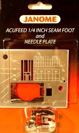 Janome 1/4 Seam Foot with Needle Plate BP-1
