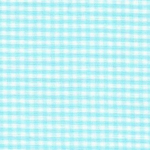 1/16 Inch Seafoam Gingham Check Cotton