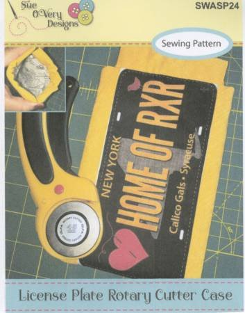 License Plate Rotary Cutter Case