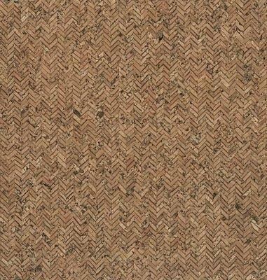 Herringbone Cork Fabric 9x12