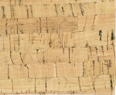 Natural with Gold Flecks Cork Fabric 13x18