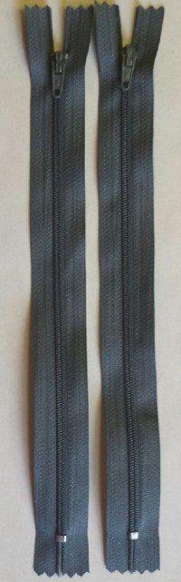 Countess Zipper 9 Dark Grey