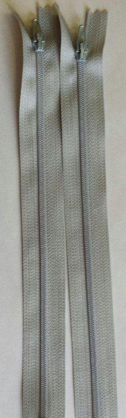 Countess Zipper 9 Light Grey